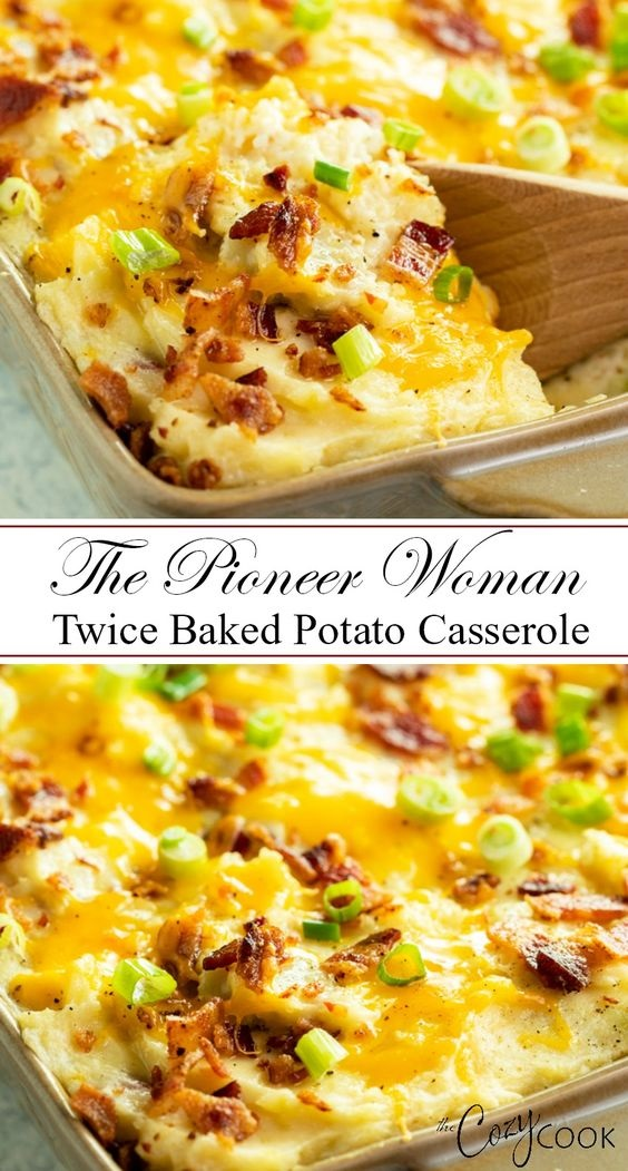 The Pioneer Woman's Twice Baked Potato Casserole
