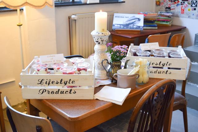 Bloggerfood Nachtisch beim essence Event in Hamburg