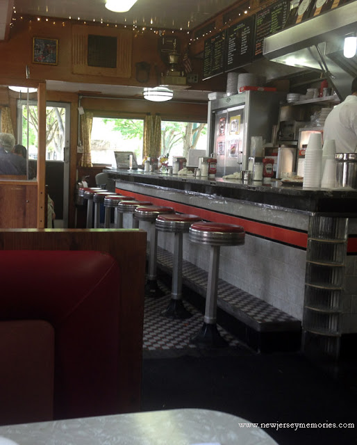 Classic interior of the Summit Diner, Summit, New Jersey