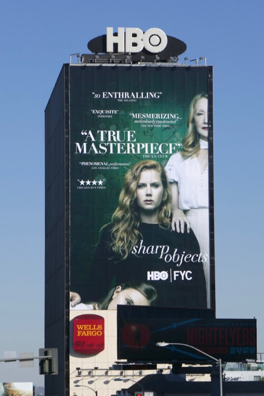 Sharp Objects For your consideration billboard