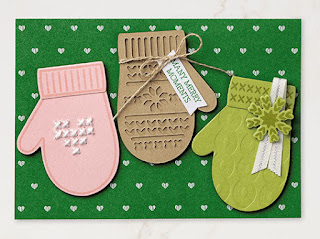 6 Stampin' Up! Smitten Mitten Projects ~ 2017 Holiday Catalog