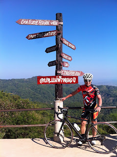Roadcycling in Thailand