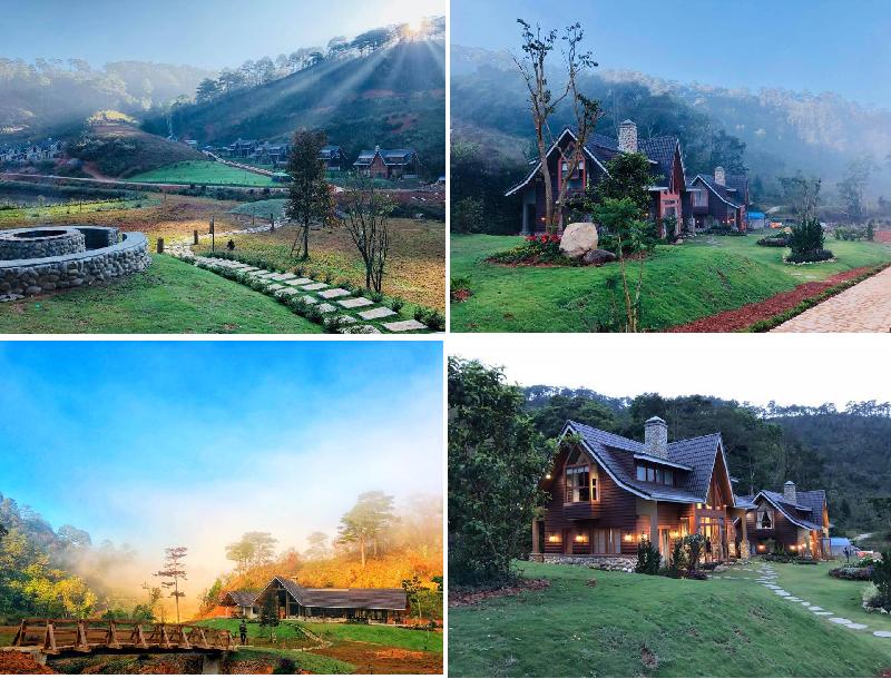 LAT Valley homestay: Khu vườn cổ tích ngọt ngào quên lối gần Đà Lạt