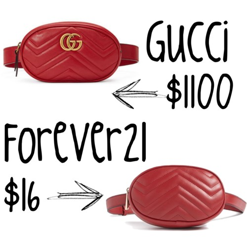 349801519f1 The Look for Less  Gucci Belt Bag - Frugal Shopaholics