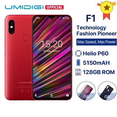 Global Giveaway 10 units UMIDIGI F1 Play Smartphones | Free Stuff