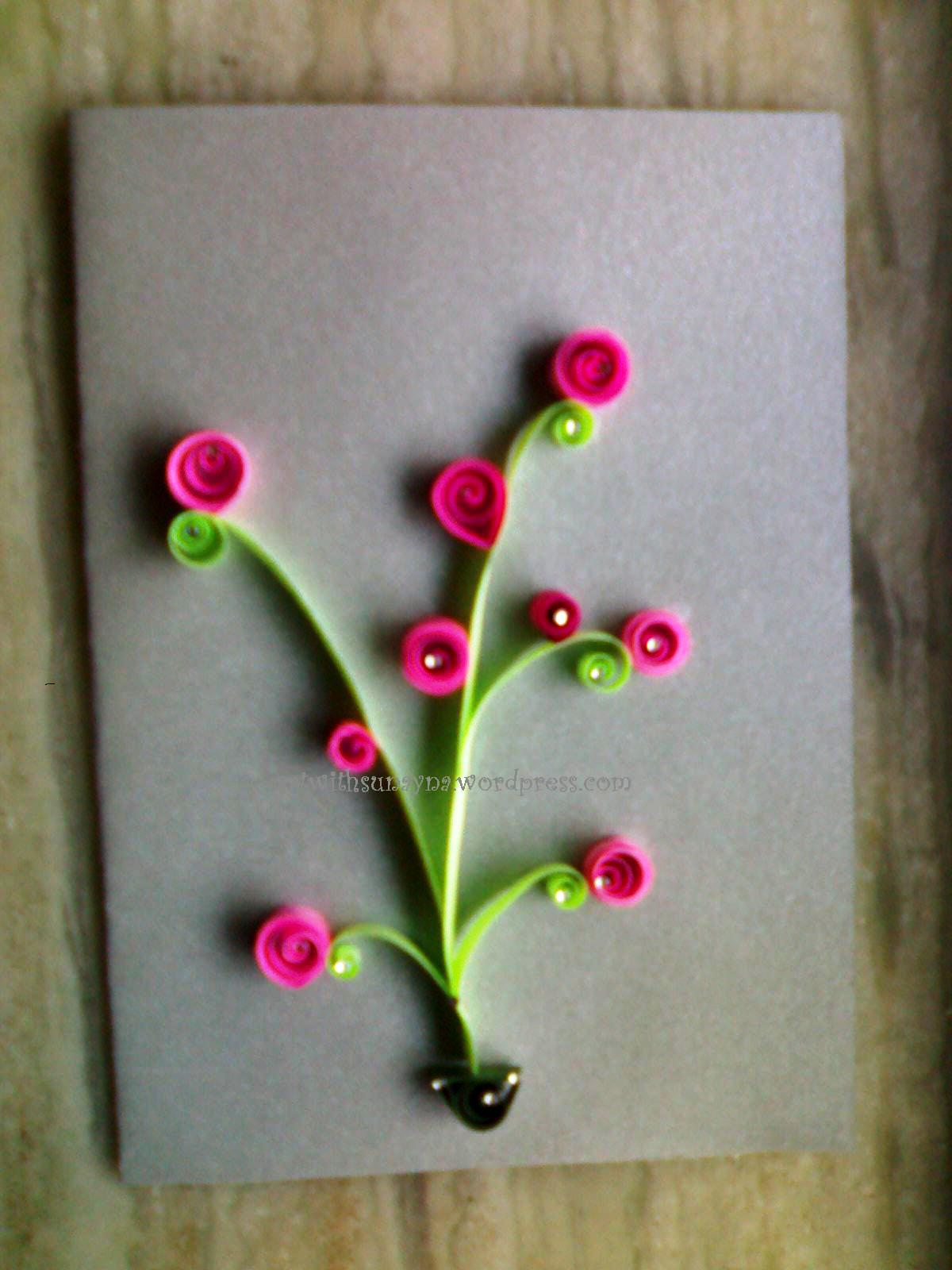 Easy quilling ideas easy arts and crafts ideas for Simple paper quilling designs