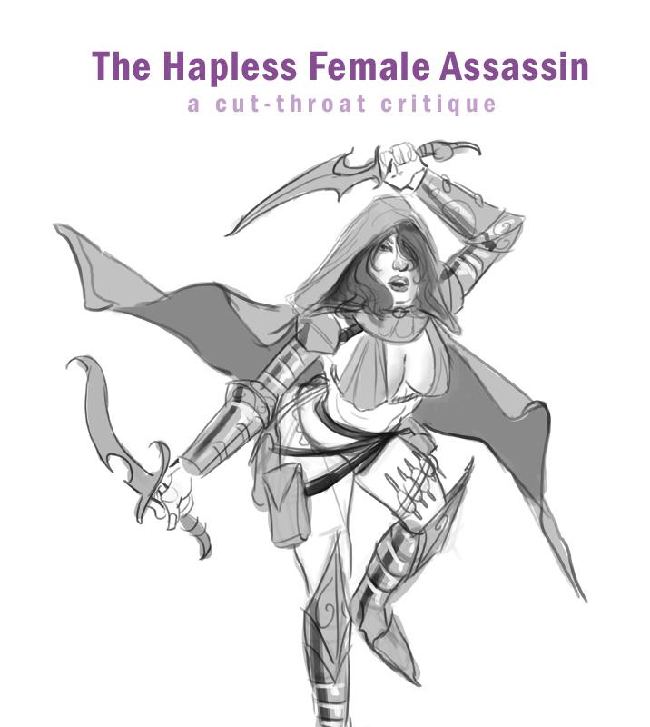 Jason Rainville Fantasy And Science Fiction Artist The Hapless Female Assassin