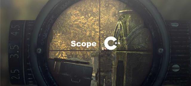 Pengertian Scope (Ruang Lingkup) - Belajar C++