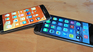 Galaxy S6 Edge VS iPhone 6 Plus