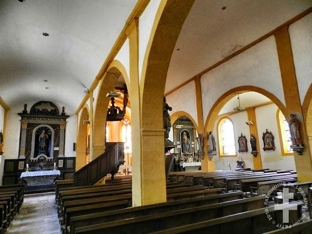 DOMJULIEN (88) - Eglise Saint-Julien (XVe-XVIIIe siècle)