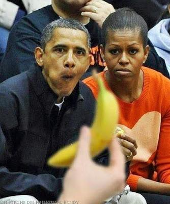 Lustige Bilder Barack Obama böser schwarzer Humor