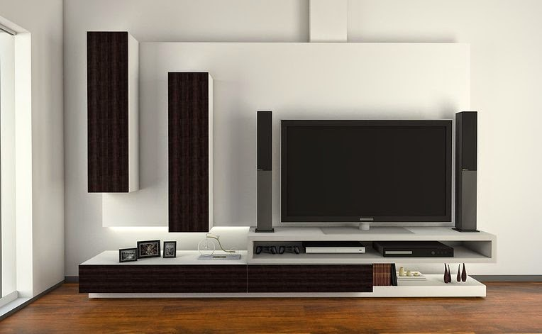 Organizadores muebles decoractual dise o y decoraci n - Muebles para tv plana ...
