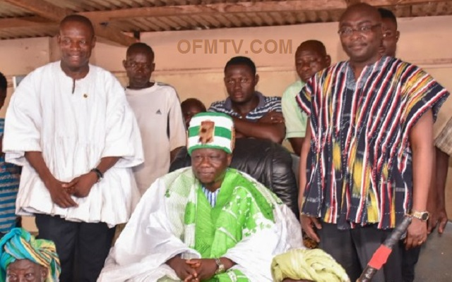 Vice President Dr. Mahamudu Bawumia and the Chiefs of Dagbon