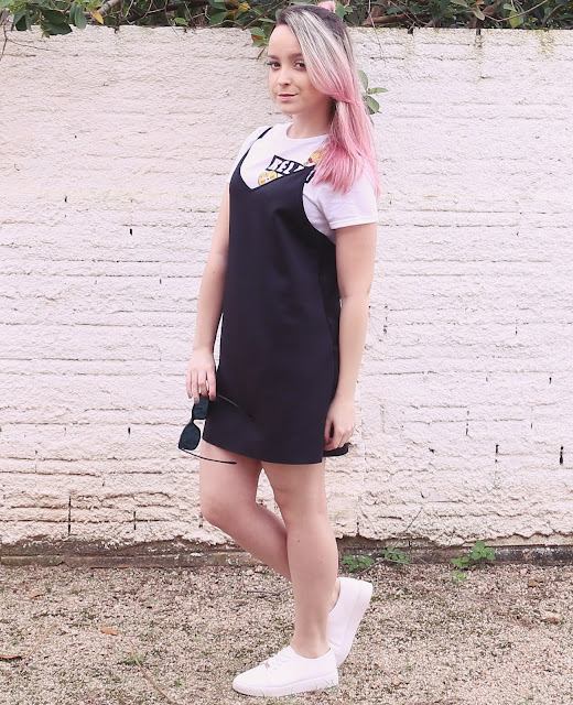 Look do Dia: Sobreposição com Slip Dress