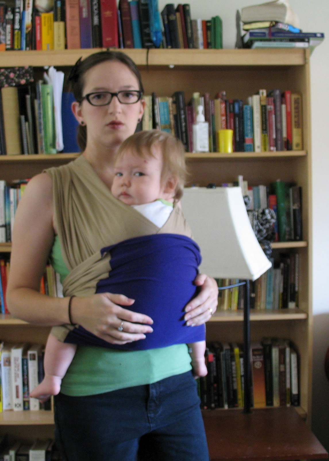 One Hope Left Homemade Baby K Tan Carrier Instructions