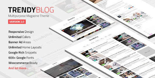 TrendyBlog v2.0.0 – Multipurpose Magazine Theme