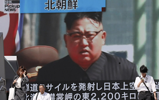 North Korea launches ANOTHER missile over Japan in the Pacific as regime taunts the world - and this time Seoul swiftly retaliates with its own test