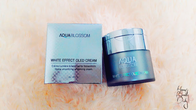 Aqua Blossom; White Effect OLED Cream; Review