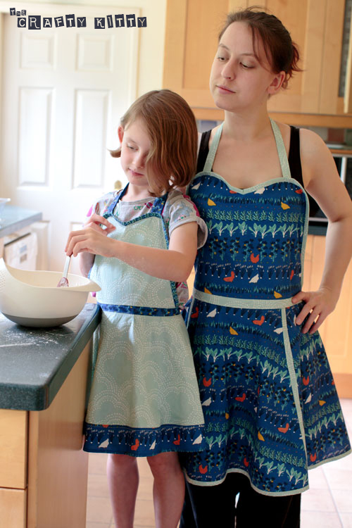 Adult & Kid Retro Apron