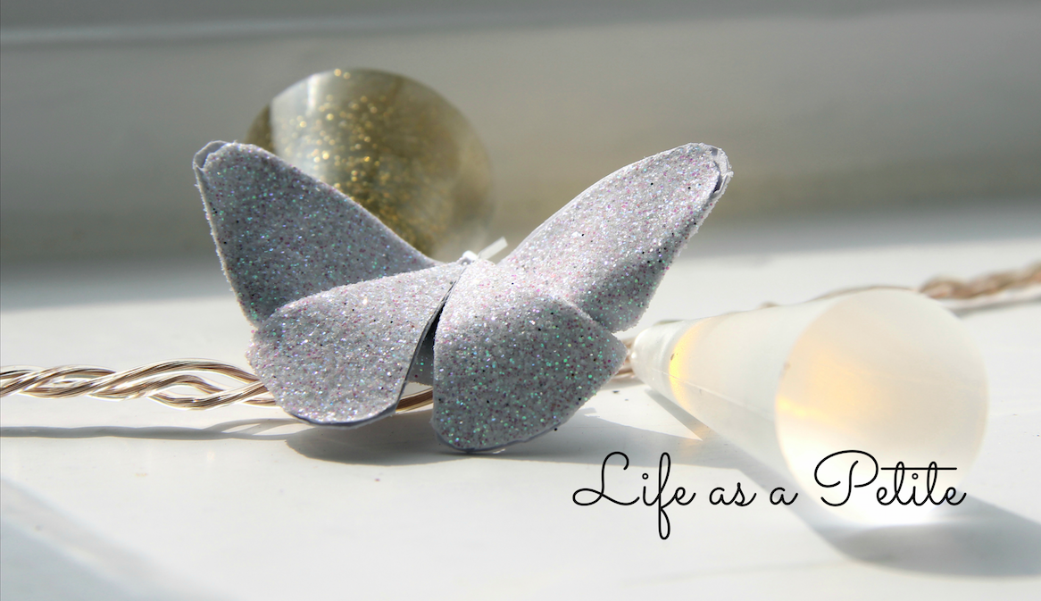 DIY Gift Idea: Origami Paper Butterfly (Life as a Petite)