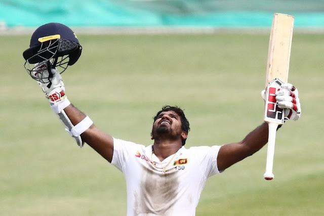 कुशल परेरा ने दक्षिण अफ्रीका के खिलाफ पहले टेस्ट में नाबाद 153 रन बनाए