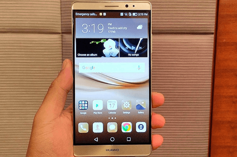 Huawei Mate 8 in the flesh