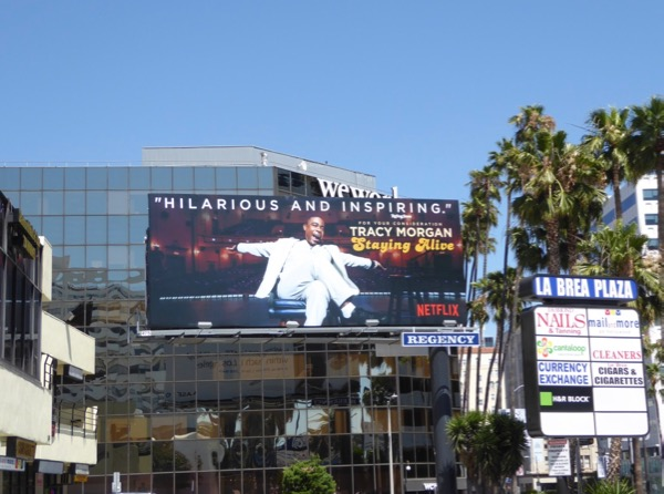 Tracy Morgan Staying Alive 2017 Emmy FYC billboard