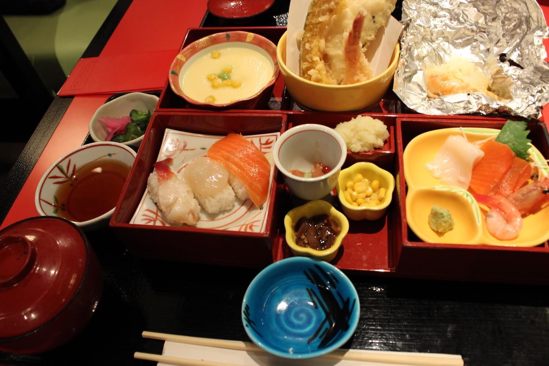 sapporo food hokkaido specialty bento from airport