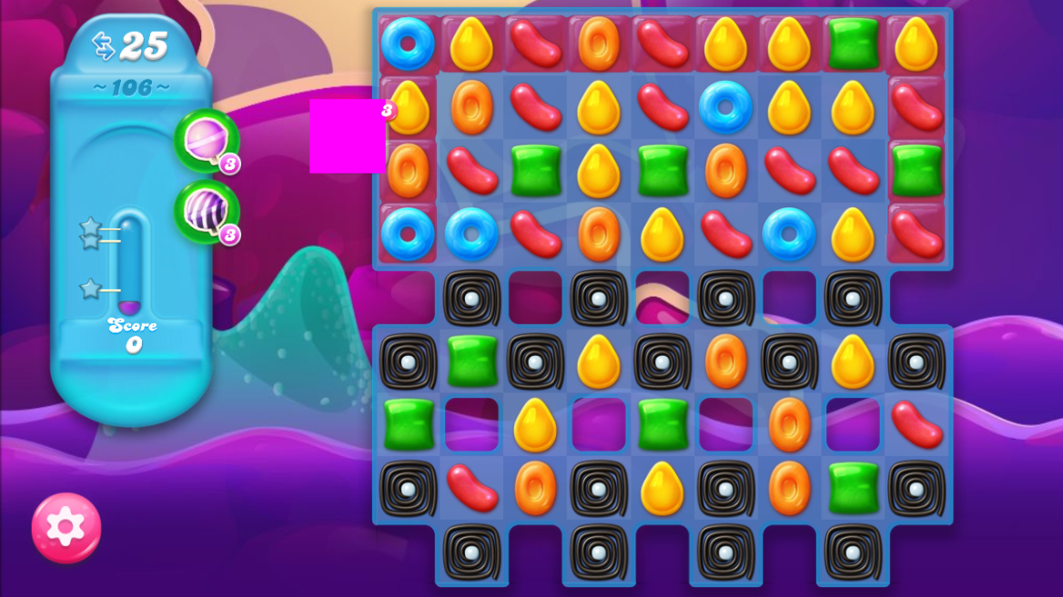 Candy Crush Jelly Saga 106