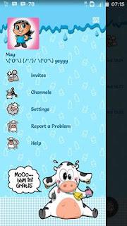 BBM MOD Cute MoOO