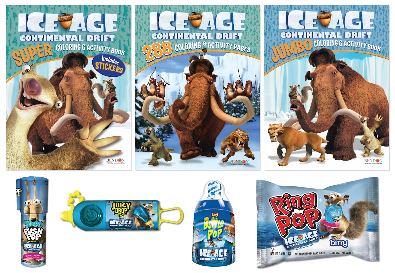 286d9ab79622 Ice Age  Continental Drift  Giveaway 2 Winners!!! CLOSED!