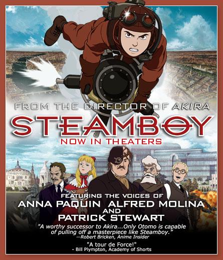 Steamboy Director's Cut (2004) | Nicholas L  Garvery