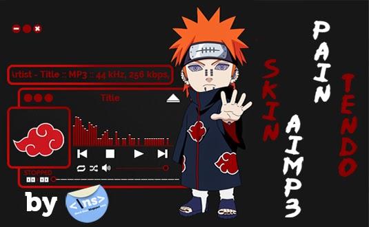 Download Skin Aimp Akatsuki Pain Tendo