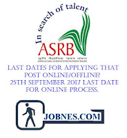 Agricultural Scientists Board recruitment 2017  for various posts  apply online here
