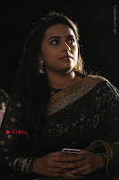 Actress Sri Divya Latest Pos in Black Saree at Sangili Bungili Kathava Thora Tamil Movie Audio Launch  0011.jpg