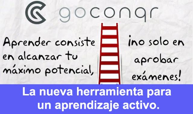 GoConqr. La nueva herramienta para un aprendizaje activo.