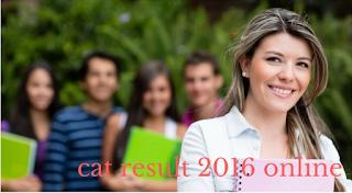 cat result 2016 online