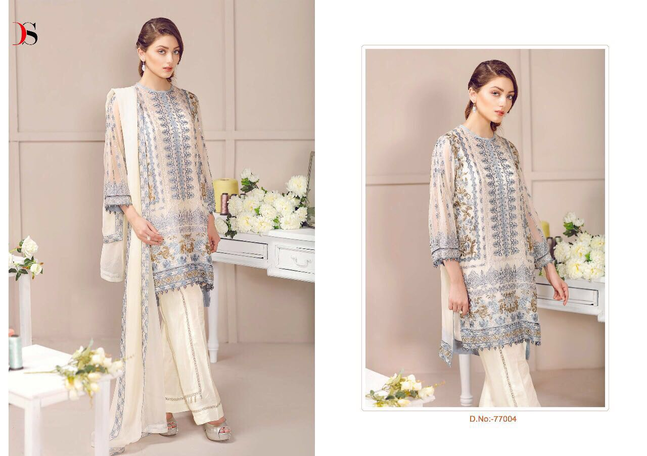 Mahrosh-5 – New Arrival Georgette Dress Material