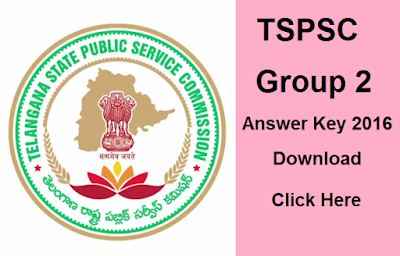 Telangana Group 2 Exam Answer Key 2016