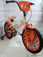2 Sepeda Anak Bike Lord 1809W Dop New 2012 16 Inci