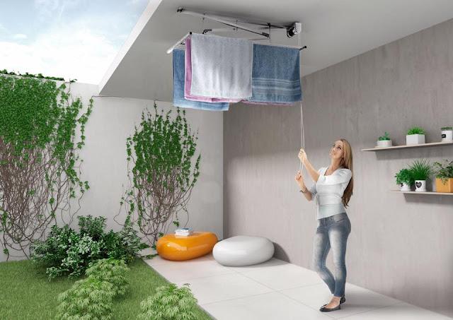 Consigli per la casa e l 39 arredamento stendibiancheria - Intonacare muro esterno ...