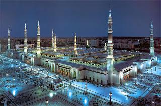 Gambar Masjid Nabawi madinah