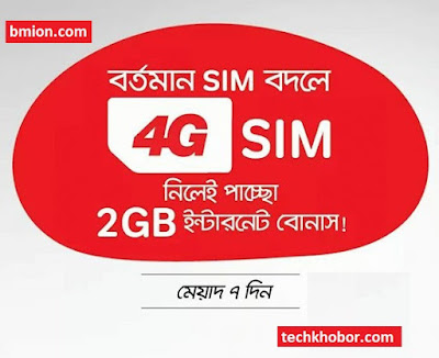 এয়ারটেল 4G সিম রিপ্লেস করলে ২ জিবি ইন্টারনেট বোনাস!  4G Ready সিম নিয়ে নিন!