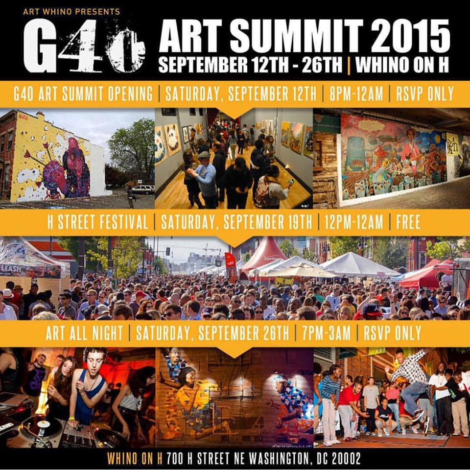 G40 at Art Whino 9/26/15
