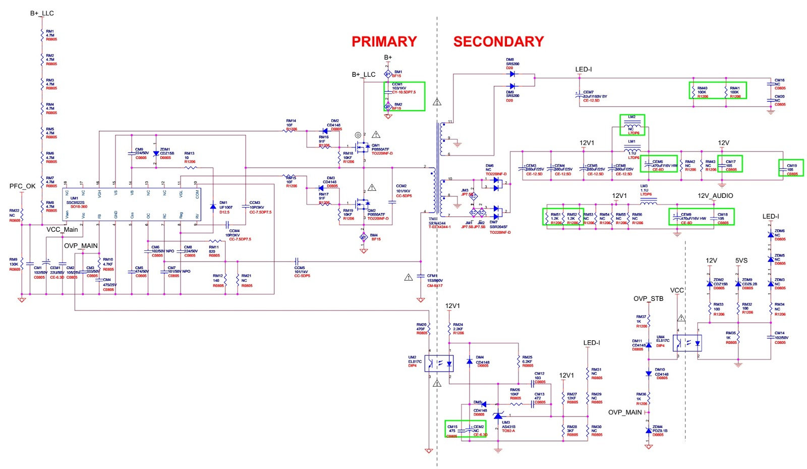 Awesome Atx 450w Smps Circuit Diagram Ideas - Electrical Circuit ...