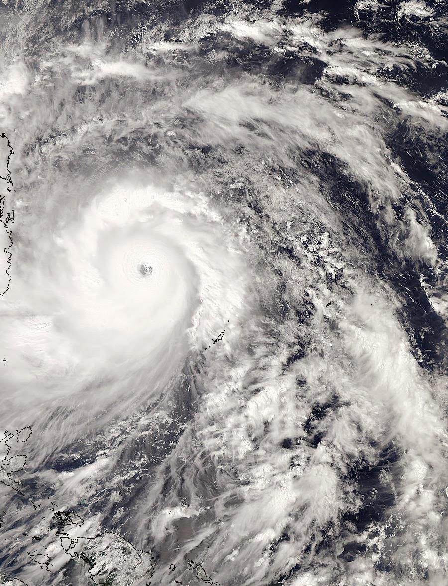 Globe Backyard: NASA Satellite- Super Typhoon Haiyan (Updates)