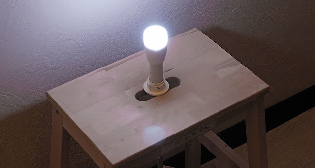 a lamp with LuMini lighting alarm from Dadzhet Gadgets Blog Company