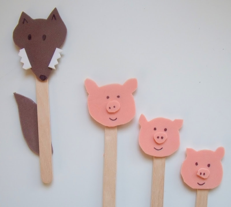 Fairy Tale Crafts 3 Little Pigs 20 Must Follow Moms Fairy tale