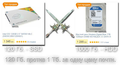 SSD или HDD!