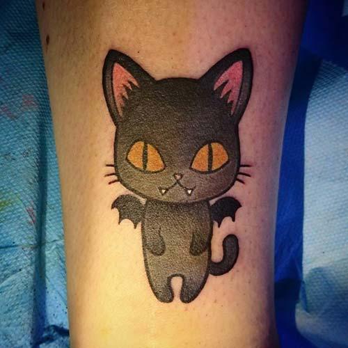 kedi dövmeleri cat tattoos 49